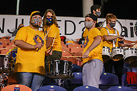 SANDY, UT - OCTOBER 03: Utah Royals FC Drum Line during a game between Portland Thorns FC and Utah Royals FC at Rio Tinto Stadium on October 03, 2020 in Sandy, Utah.
