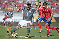 Action photo during the match Costa Rica vs Paraguay, Corresponding Group -A- America Cup Centenary 2016, at Citrus Bowl Stadium<br /> <br /> Foto de accion durante el partido Estados Unidos vs Colombia, Correspondiante al Grupo -A-  de la Copa America Centenario USA 2016 en el Estadio Citrus Bowl, en la foto: (i-d) Jorge Benitez de Paraguay y Cristian Gamboa  de Costa Rica<br /> <br /> <br /> 04/06/2016/MEXSPORT/Isaac Ortiz.