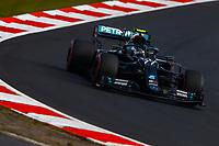 10th October 2020, Nuerburgring, Nuerburg, Germany; FIA Formula 1 Eifel Grand Prix, Qualifying sessions;  77 Valtteri Bottas FIN, Mercedes-AMG Petronas Formula One Team wins pole
