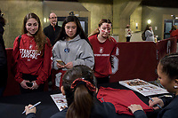 STANFORD, CA --January 27, 2020. The Stanford Cardinal women's gymnastics team with a season-high score loses to the UCLA Bruins 197.575 to 196.250  at Maples Pavilion.
