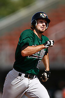 May 20, 2007: Derek Bruce of the Visalia Oaks runs the bases against the Rancho Cucamonga Quakes at The Epicenter in Rancho Cucamonga,CA.  Photo by Larry Goren/Four Seam Images