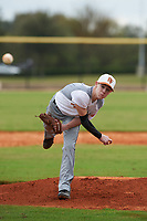 Ethan Hollis (8) of Culleoka, Tennessee during the Baseball Factory All-America Pre-Season Rookie Tournament, powered by Under Armour, on January 13, 2018 at Lake Myrtle Sports Complex in Auburndale, Florida.  (Michael Johnson/Four Seam Images)