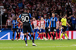 Club Brugge's Lois Openda during UEFA Champions League match between Atletico de Madrid and Club Brugge at Wanda Metropolitano Stadium in Madrid, Spain. October 03, 2018. (ALTERPHOTOS/A. Perez Meca)