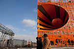 """La Confluence district, Lyon, France, 14 January 2012. 