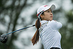 Bo Kyung Kim of South Korea tees off at the 16th hole during Round 3 of the World Ladies Championship 2016 on 12 March 2016 at Mission Hills Olazabal Golf Course in Dongguan, China. Photo by Victor Fraile / Power Sport Images