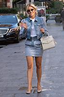 London, UK- 10 September 2020<br /> Ashley Roberts departing Global Radio Studios, London, UK<br /> CAP/JOR<br /> ©JOR/Capital Pictures