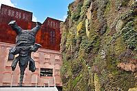 Gran elefante erguido by Miquel Barcelo at the CaixaForum cultural center, Madrid, Spain, 2009
