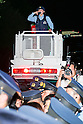 Thousands protest Japan government plans to allow troops to fight overseas