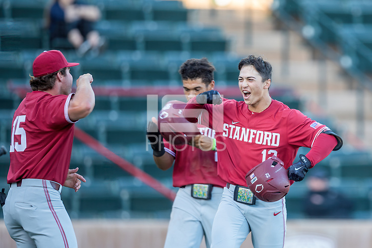 STANFORD, CA - JUNE 6: Tommy Troy during a game between UC Irvine and Stanford Baseball at Sunken Diamond on June 6, 2021 in Stanford, California.