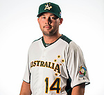 Chris Snelling of Team Australia poses during WBC Photo Day on February 25, 2013 in Taichung, Taiwan. Photo by Andy Jones / The Power of Sport Images
