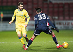 Ross County v St Johnstone…27.12.17…  Global Energy Stadium…  SPFL<br />Richie Foster and Chris Eagles<br />Picture by Graeme Hart. <br />Copyright Perthshire Picture Agency<br />Tel: 01738 623350  Mobile: 07990 594431