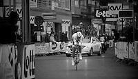 3 Days of West-Flanders, day 1: Middelkerke prologue.Matthew Brammeier near the finish line