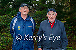 Enjoying a stroll in Killarney National park on Sunday, l to r: Mick Myles and Moss Brosnan.