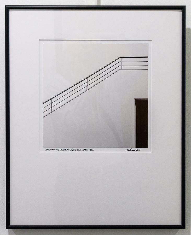 """Framed Size 20""""h x 16""""w, $310<br /> Matte Black Nielsen 15 metal frame"""