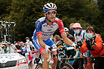 Thibaut Pinot (FRA) Groupama-FDJ climbs Col de Marie Blanque during Stage 9 of Tour de France 2020, running 153km from Pau to Laruns, France. 6th September 2020. <br /> Picture: Colin Flockton   Cyclefile<br /> All photos usage must carry mandatory copyright credit (© Cyclefile   Colin Flockton)