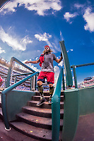 15 August 2017: Washington Nationals outfielder Jayson Werth returns to the dugout after a workout prior to a game against the Los Angeles Angels at Nationals Park in Washington, DC. The Nationals defeated the Angels 3-1 in the first game of their 2-game series. Mandatory Credit: Ed Wolfstein Photo *** RAW (NEF) Image File Available ***