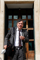Scientist Giorgio Parisi, Nobel Prize in Physics for 2021 enters the Lower Chamber.<br /> Rome (Italy), October 8th 2021<br /> Photo Samantha Zucchi Insidefoto