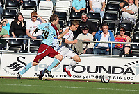Pictured: <br /> Coca Cola Championship, Swansea City FC v Burnley at the Liberty Stadium, Swansea. Saturday 20 September 2008.