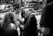 Boston, Massachusetts.USA.July 26, 2004..The opening night of the Democratic National Convention in Boston. Howard Dean before going on the Larry King show..