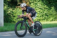 Hanna Hafenrichtr (Nicole Best Coaching) auf dem Rad - Mörfelden-Walldorf 18.07.2021: MoeWathlon