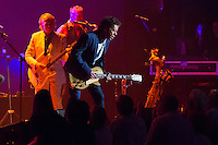 Blondie Chaplin performs with Brian Wilson, co-founder of The Beach Boys, not pictured, at the Ryman Auditorium on Friday, Sept. 16, 2016, in Nashville, Tennessee. (Photo by James Brosher)