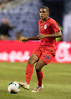 CHICAGO, IL - JULY 7: Reggie Cannon #14 during a game between Mexico and USMNT at Soldiers Field on July 7, 2019 in Chicago, Illinois.