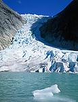 Norwegen, Sogn og Fjordane, Gletscher Briksdalsbreen, Teil des Gletschers Jostedalsbreen | Norway, Sogn og Fjordane, glacier Briksdalsbreen, part of glacier Jostedalsbreen