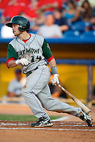 Fort Wayne TinCaps Tyler Stubblefield #14 during a game against the Lake County Captains at Classic Park on July 2, 2012 in Eastlake, Ohio.  Fort Wayne defeated Lake County 5-4.  (Mike Janes/Four Seam Images)