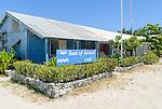 The Bank of Kiribati in the London on the island of Kiritimati in Kiribati.
