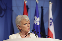 Marie-Josee Nadeau, Executive Vice President, Corporate Affairs and Secretary General , Hydro Quebec  <br /> attend the International Economic Forum of the Americas 20th Edition, from June 9-12, 2014 <br /> <br />  Photo : Agence Quebec Presse - Pierre Roussel