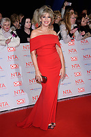 Ruth Langsford<br /> arriving for the National Television Awards 2018 at the O2 Arena, Greenwich, London<br /> <br /> <br /> ©Ash Knotek  D3371  23/01/2018