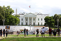 White House Fencing Removed