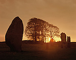 Avebury Standing Stones, Wiltshire England. Celtic Britain published by Orion.