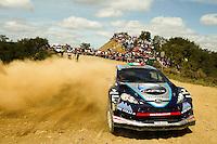 Edoardo Bresolin and Rudy Pollet, Ford Fiesta RRC E2 - TRE of COLLI WORLD  RALLY TEAM during WRC Vodafone Rally de Portugal 2013, in Algarve, Portugal on April 12, 2013 (Photo Credits: Paulo Oliveira/DPI/NortePhoto)