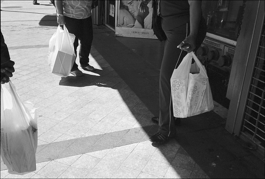 "From ""Walking Downtown"" series. Miami, 2010"