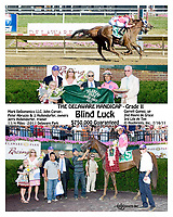 """Blind Luck defeating Havre de Grace in the 2011 The Delaware Handicap.<br /> This race was referred to as """"the showdown in Stanton""""<br /> We did several versions of this search Blind Luck, winphoto, Special Request"""