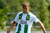 LEEK - Voetbal, Pelikaan S - FC Groningen , voorbereiding seizoen 2021-2022, oefenduel, 03-07-2021, FC Groningen speler Kian Slor