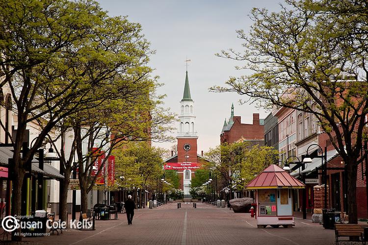 The Church Street Mall, Burlington, VT, USA