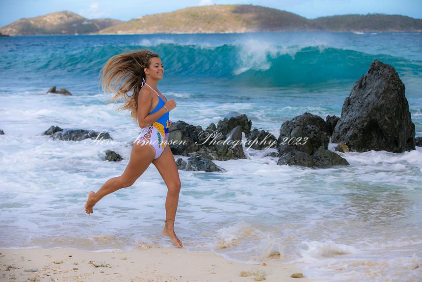 Cassandra Bitterwolf is VI Strong<br /> Denis Bay<br /> St. John<br /> US Virgin Islands