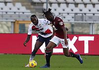 Torino 08-11-2020<br /> Stadio Grande Torino<br /> Campionato Serie A Tim 2020/21<br /> Torino - Crotone <br /> nella foto: Mette Soualiho                         <br /> foto Antonio Saia -Kines Milano