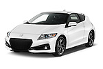 2016 Honda CRZ EX 3 Door Hatchback Angular Front stock photos of front three quarter view