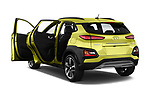 Car images close up view of a 2018 Hyundai Kona Luxury Launch 5 Door SUV doors