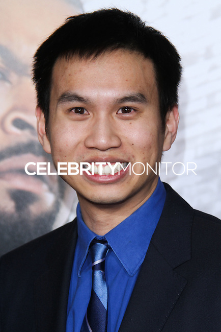 """HOLLYWOOD, CA - JANUARY 13: Michael Nguyen at the Los Angeles Premiere Of Universal Pictures' """"Ride Along"""" held at the TCL Chinese Theatre on January 13, 2014 in Hollywood, California. (Photo by David Acosta/Celebrity Monitor)"""