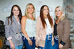 Enjoying the evening in Bella Bia on Thursday, l to r: Grace McDonnell, Aisling Carroll, Emma O'Brien and Michelle Galvin.