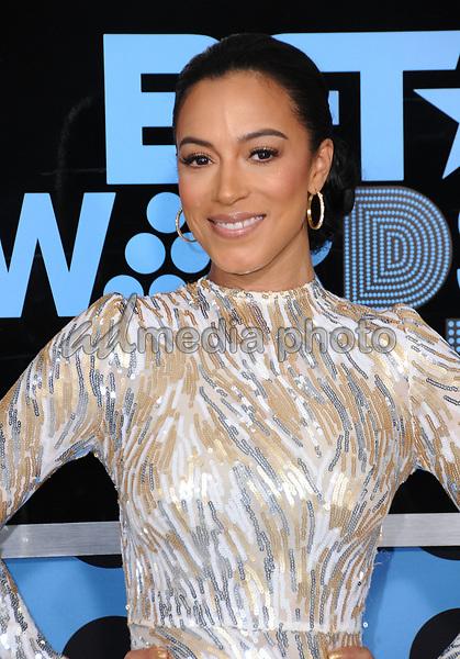 25 June 2017 - Los Angeles, California - Angela Rye. 2017 BET Awards held at the Microsoft Square in Los Angeles. Photo Credit: Birdie Thompson/AdMedia