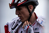 Dan Martin (IRL/UAE) after finishing on top of the Foix Prat d'Albis. <br /> <br /> Stage 15: Limoux to Foix Prat d'Albis (185km)<br /> 106th Tour de France 2019 (2.UWT)<br /> <br /> ©kramon