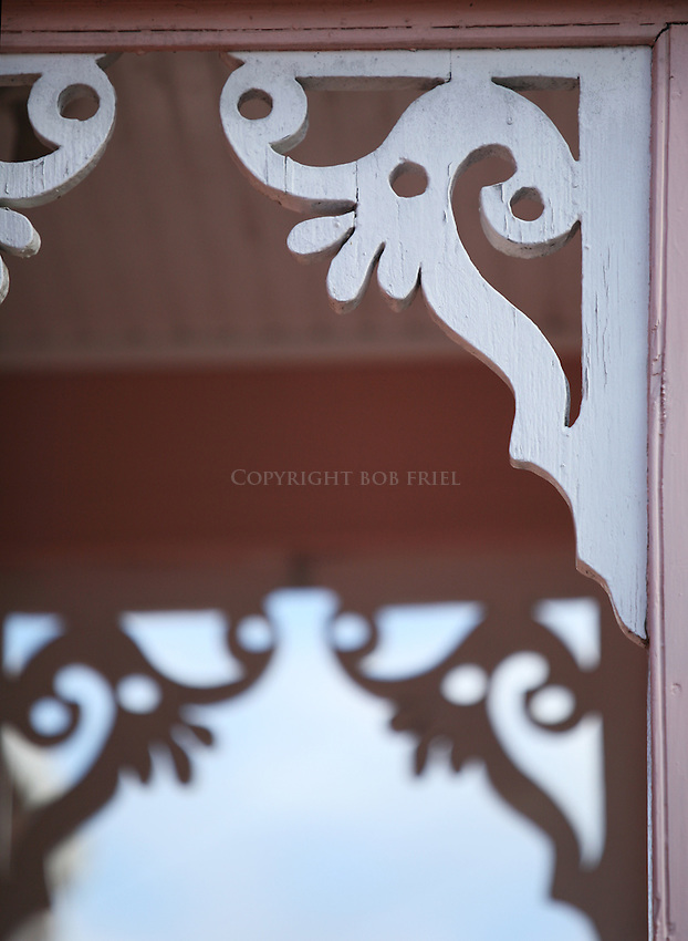 Chattel House details (between Holetown and Speightstown).St. James Parish.Barbados
