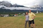 John Kieffer and Beth Crespo near Innsbruck, Austria. Europe 2013.