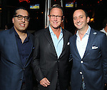 From left: Raja Ratan, Charlie Givens and Benji Homsey at the Hotel Zaza's annual Spring Party Wednesday April 24, 2013.(Dave Rossman photo)