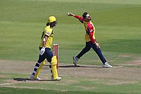 Aron Nijjar in bowling action for Essex during Hampshire Hawks vs Essex Eagles, Vitality Blast T20 Cricket at The Ageas Bowl on 16th July 2021